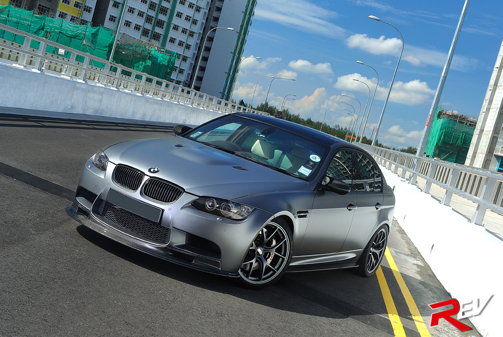 Shock Awe Bmw E90 M3 Sedan