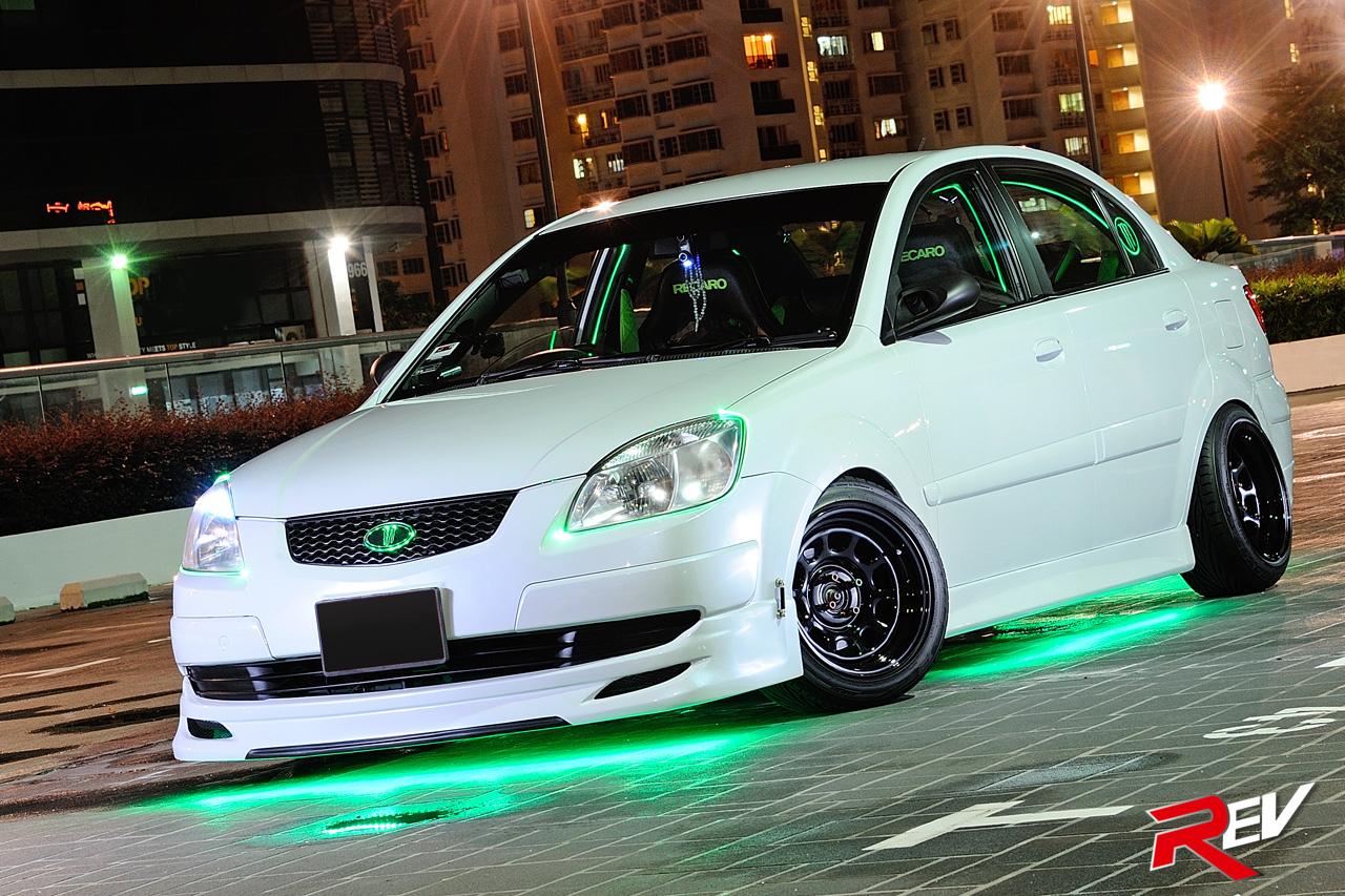 Green Goblin Kia Rio