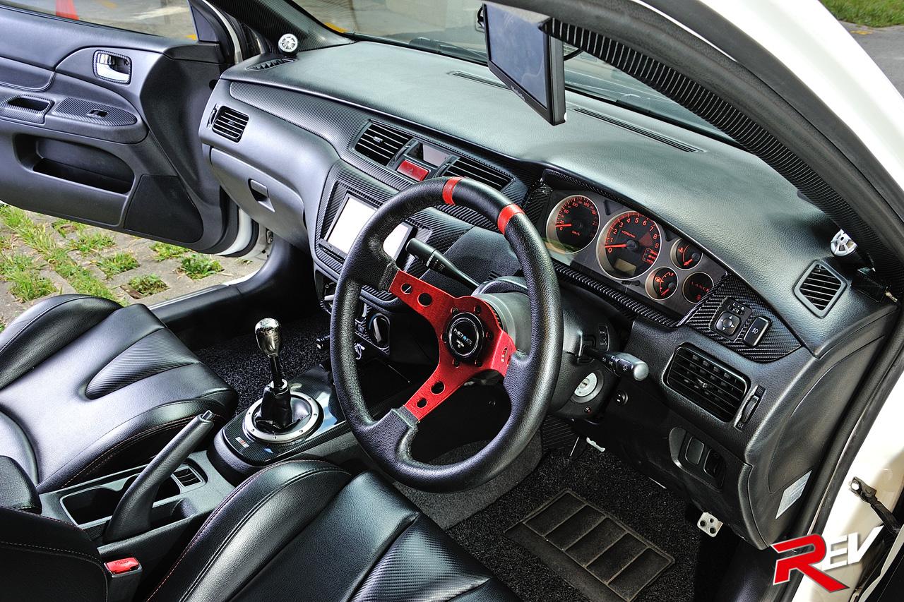 Monochrome Mayhem Mitsubishi Lancer Cs3