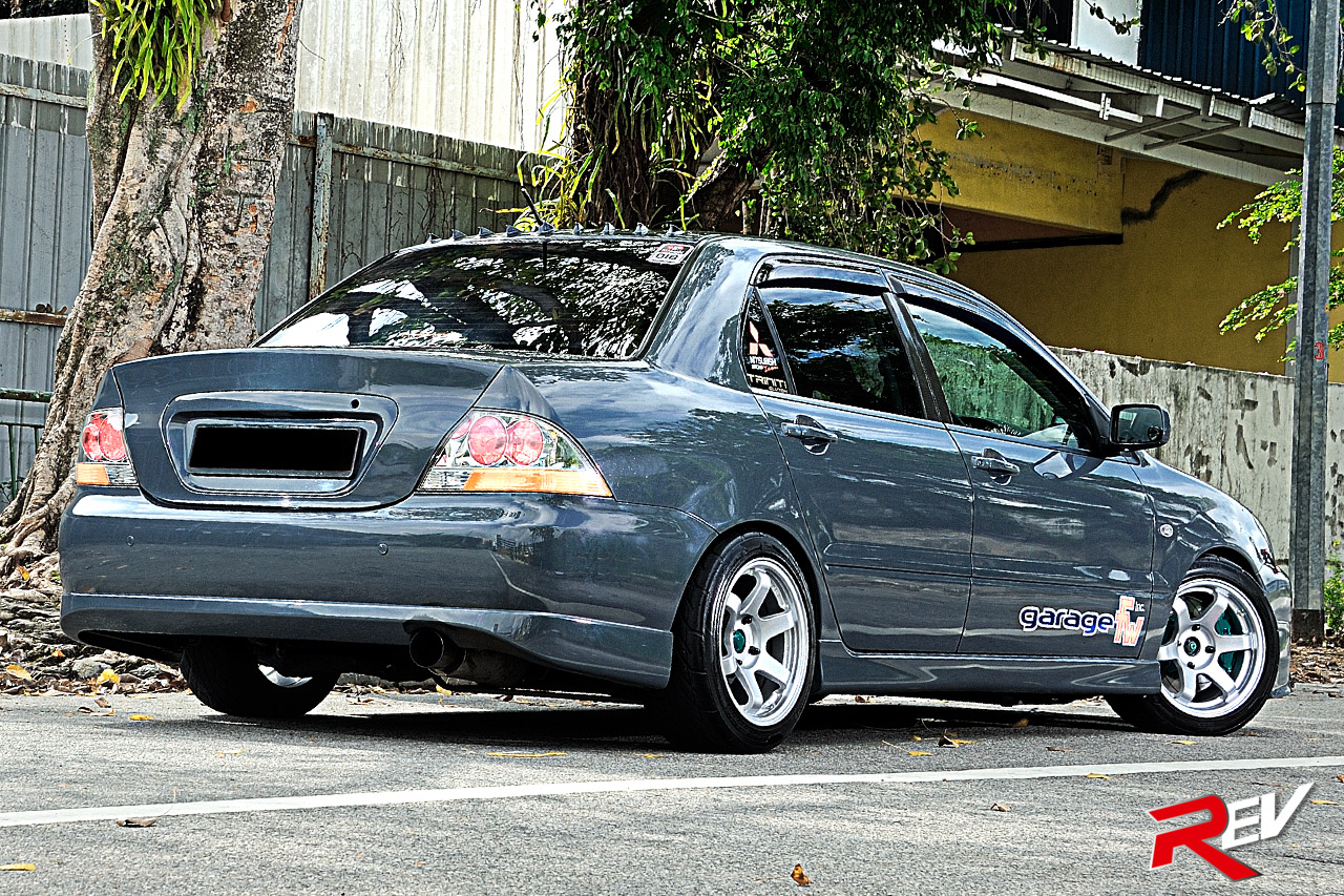 Ninja Warrior Mitsubishi Lancer Cs3