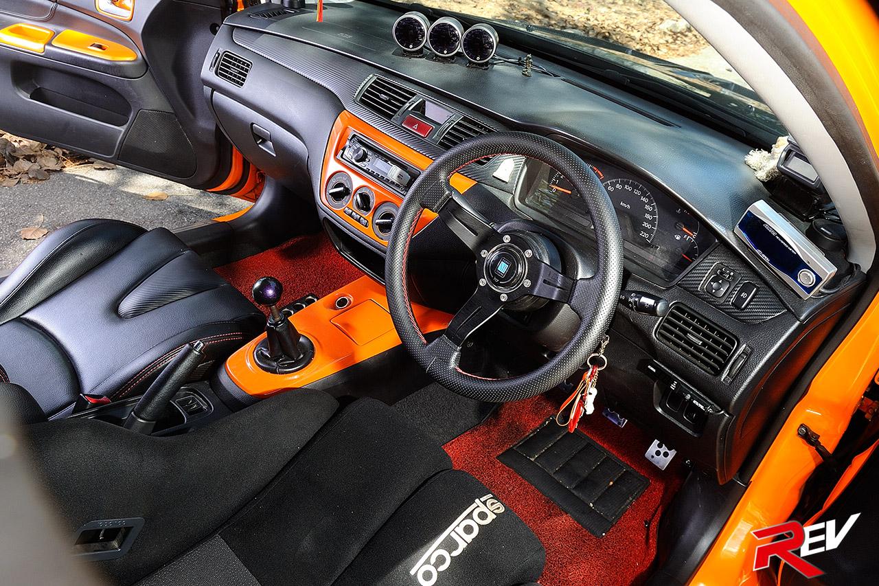 Agent Orange Mitsubishi Lancer Cs3