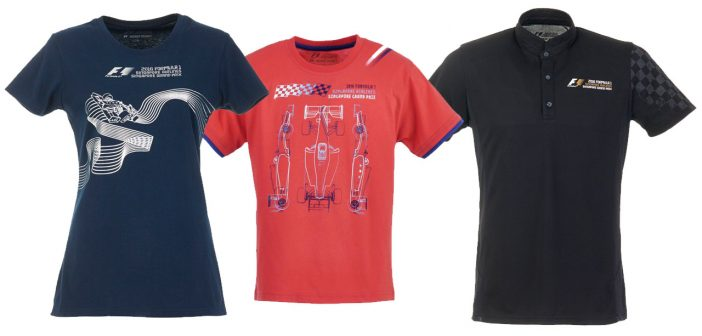 Official Singapore GP Gear Store