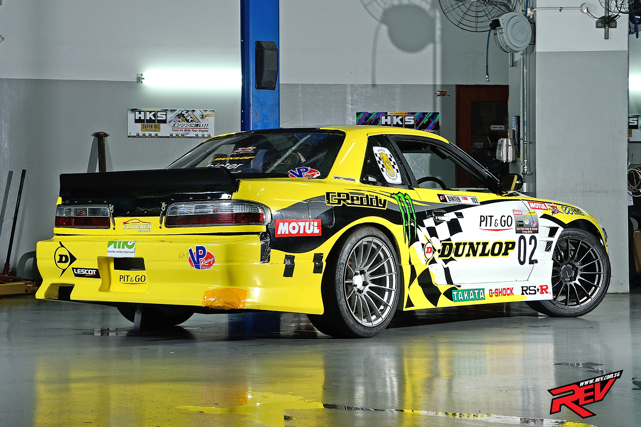 S league champ nissan silvia s13 coupe for Garage auto legue langueux