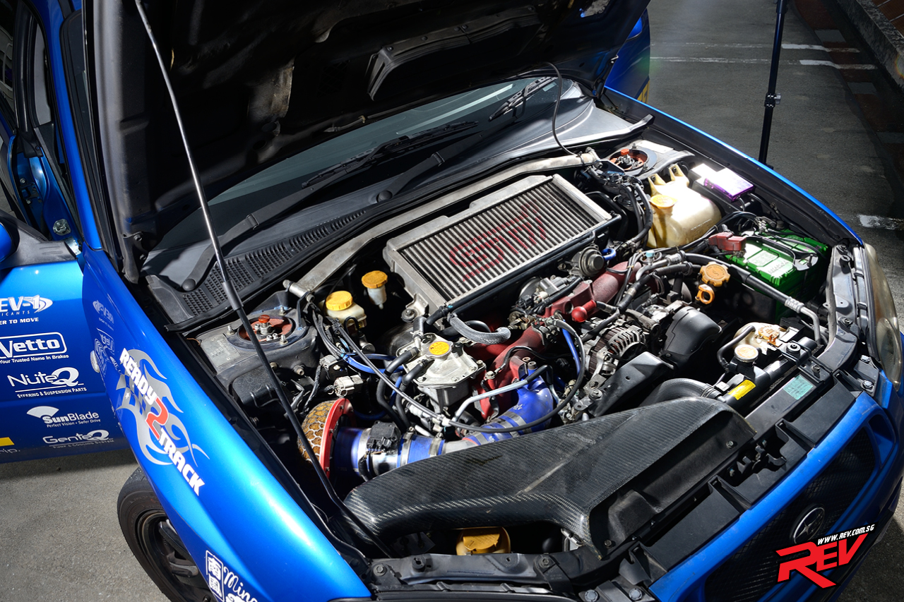 The Crazy D (Subaru Impreza WRX)