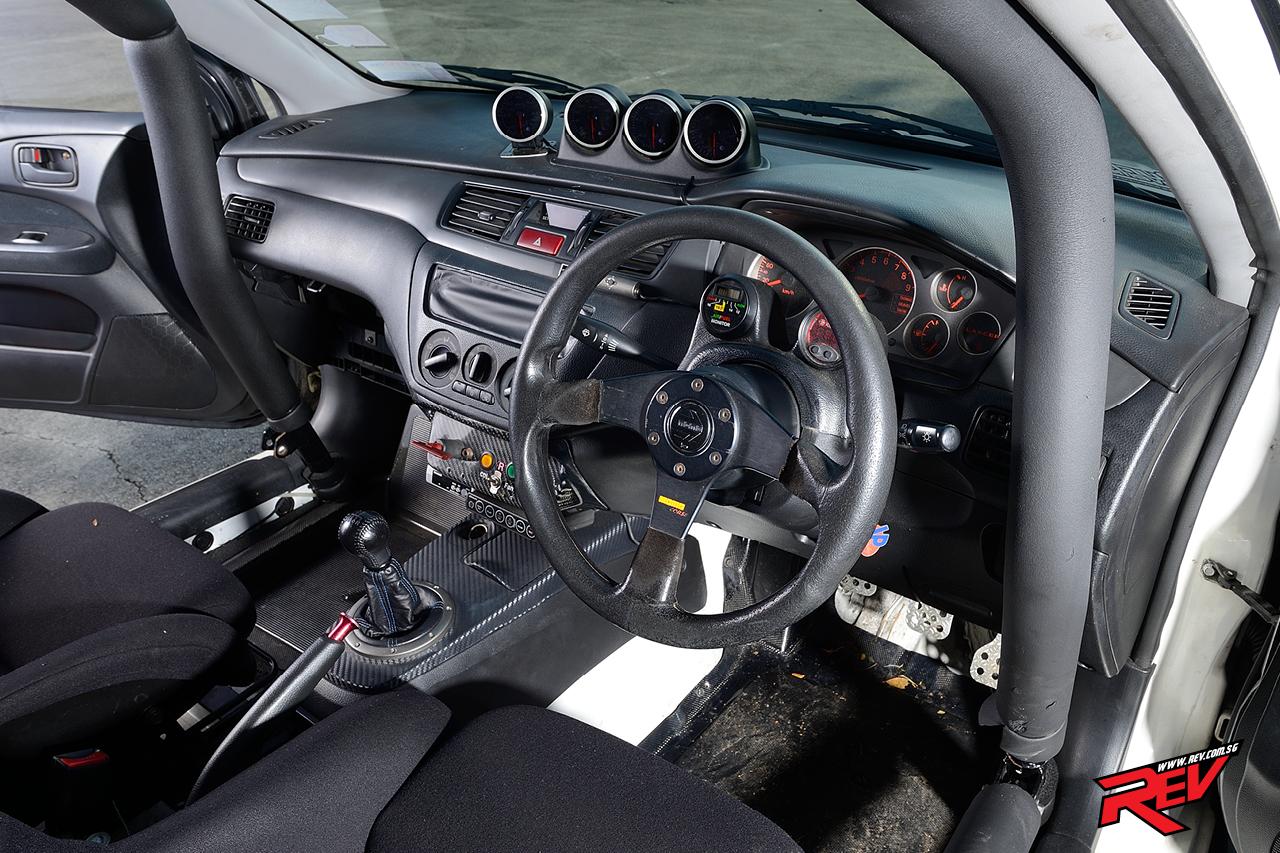 Rage Of The Furious 8 (Mitsubishi Evo 8 MR-RS)