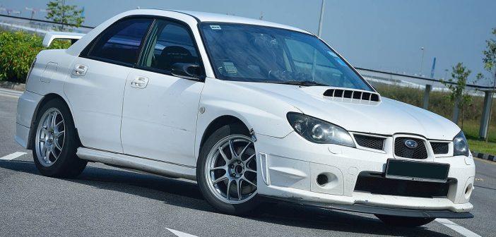 The Polar Bear Roars. (Subaru Impreza WRX)