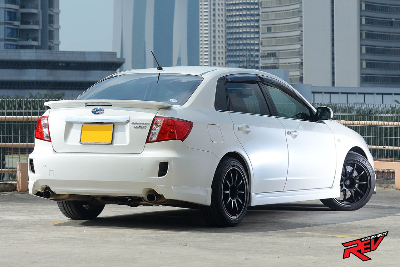 Audiosaurus Rex Subaru Impreza Wrx
