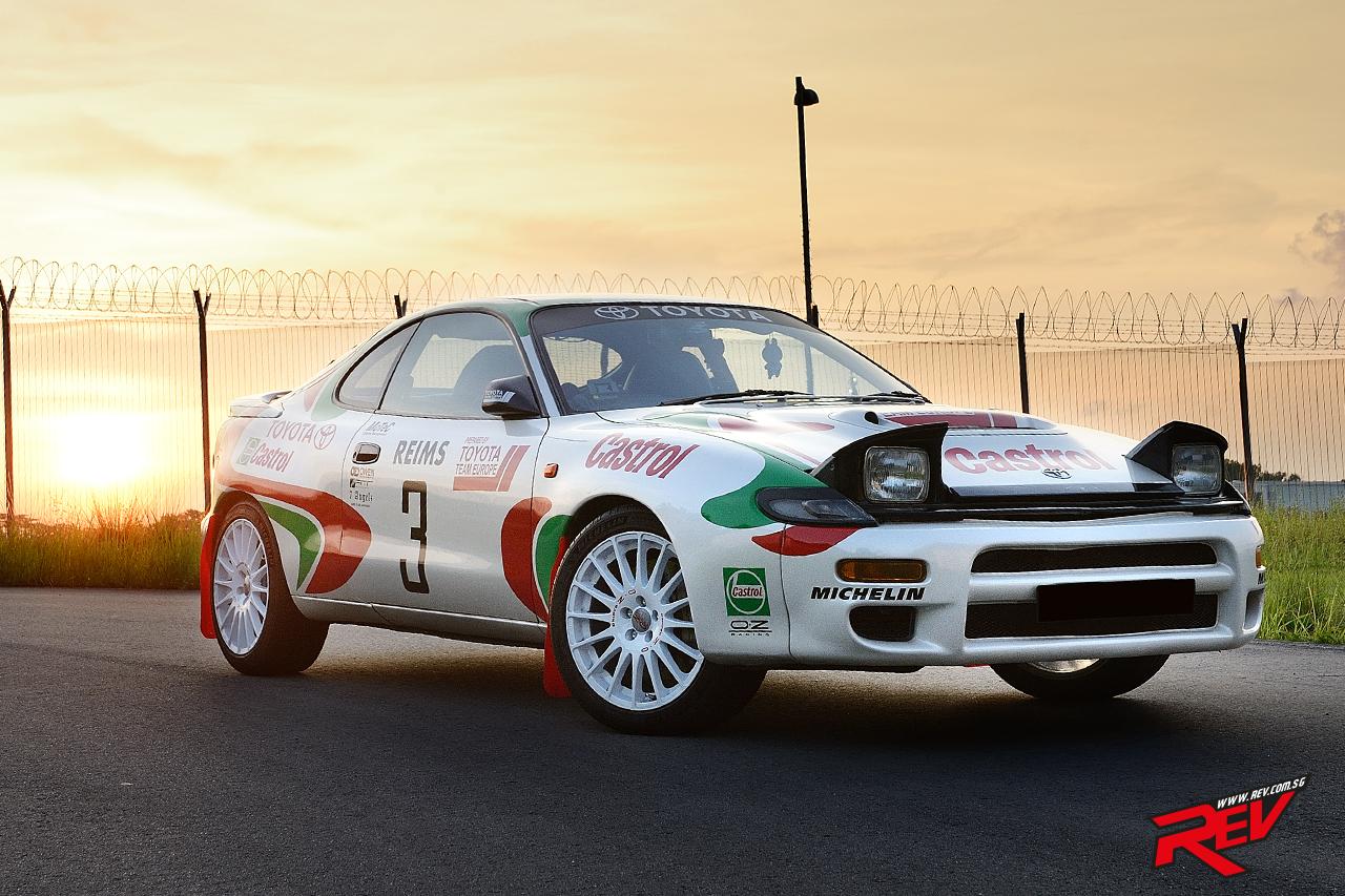 The Sainz Row (Toyota Celica GT-Four)