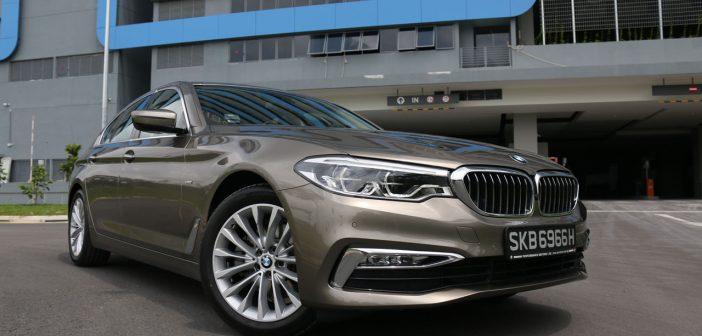 Enter the 5: BMW 520d
