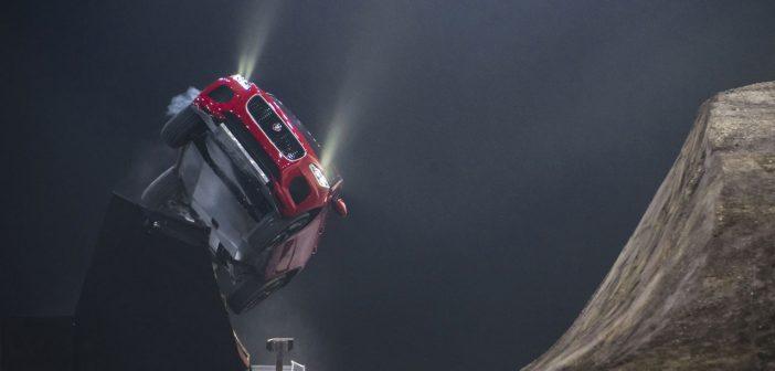 Jaguar Launches E-Pace… Into The Air