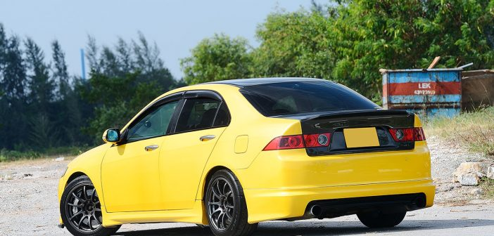 Yellow Envy (Honda Accord Euro R)