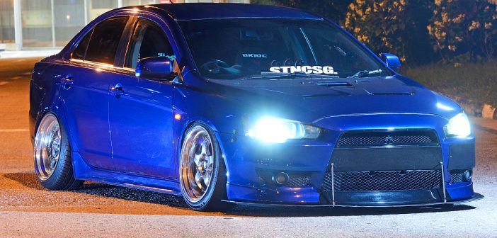 Meet The Stancer (Mitsubishi Lancer EX)