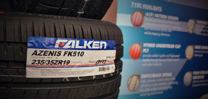 The new Falken flagship rolls in