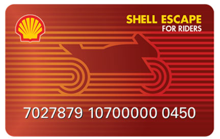 Shell Launches Industry-First Loyalty Rewards Card for Bikers