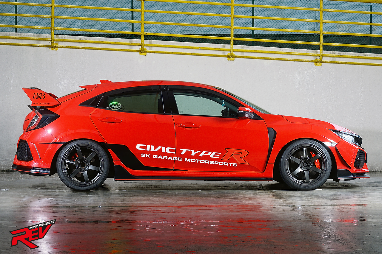 The Fast King Honda Civic Type R