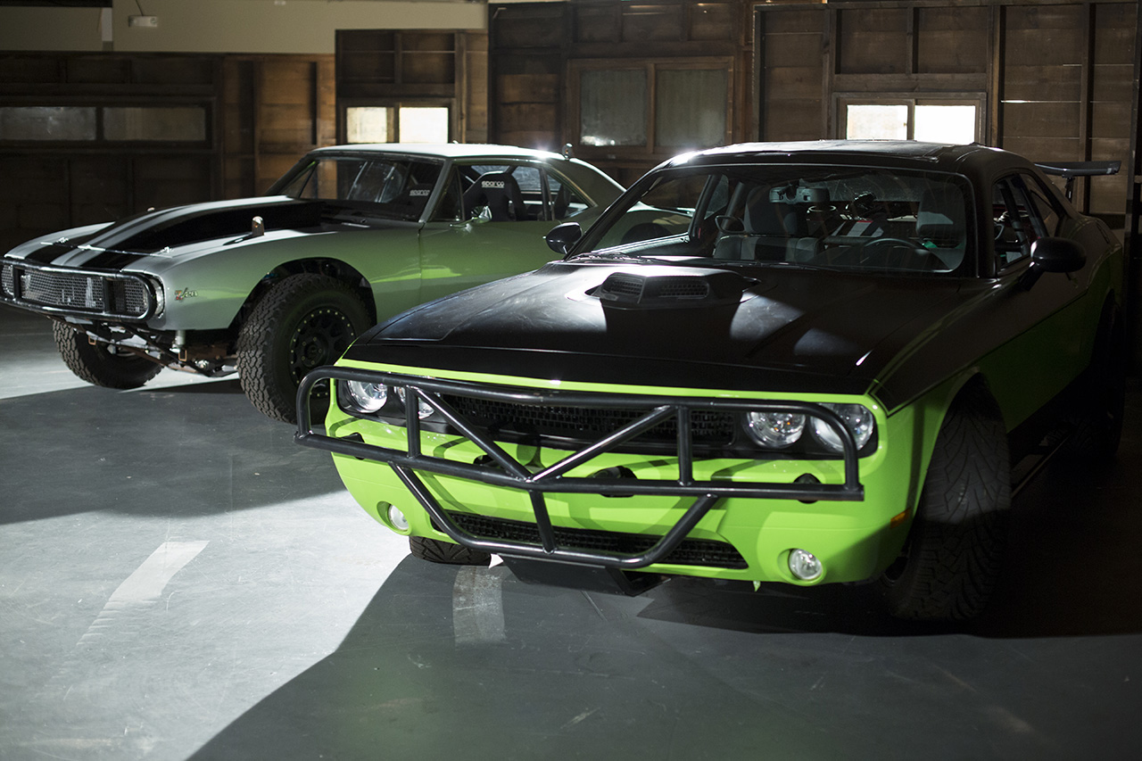 Fast Furious 7 Meet The Metal on 1967 camaro muscle car