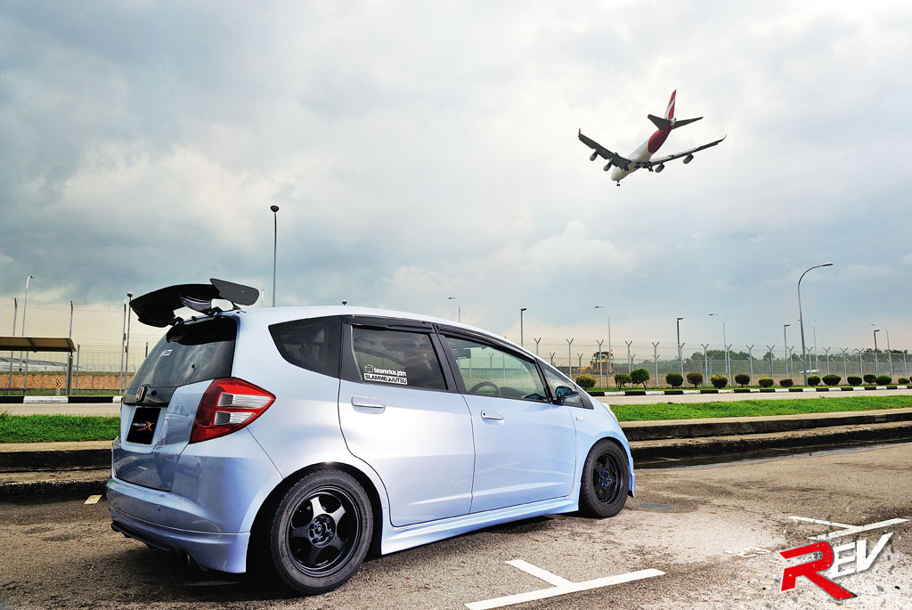 Fit And Steadfast! (Honda Fit GE6)