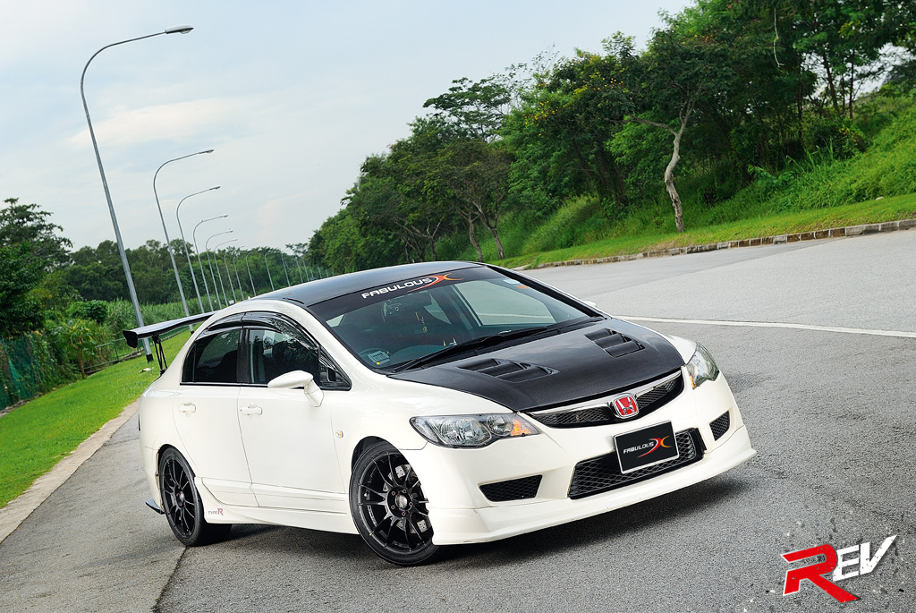Fabulously X Treme Honda Civic Type R
