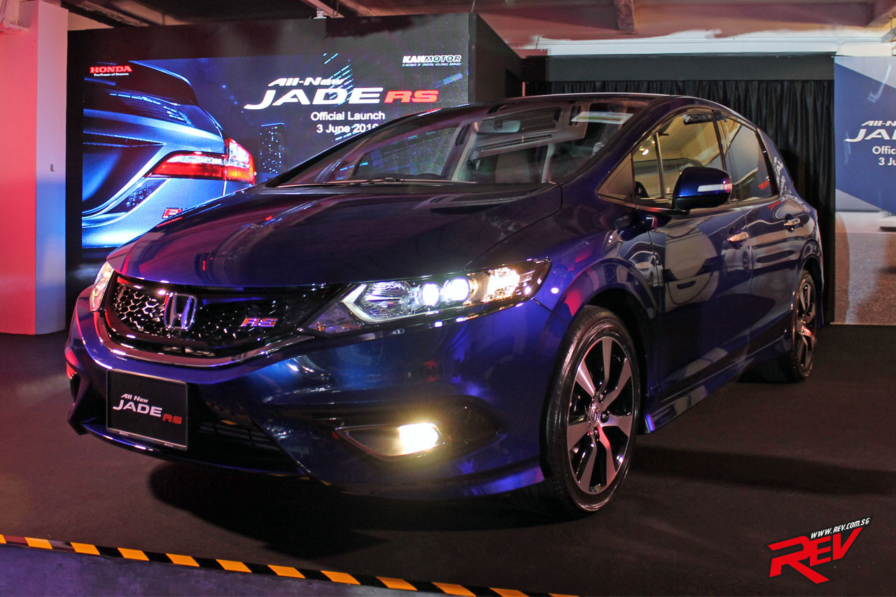 All-New Honda Jade Launched