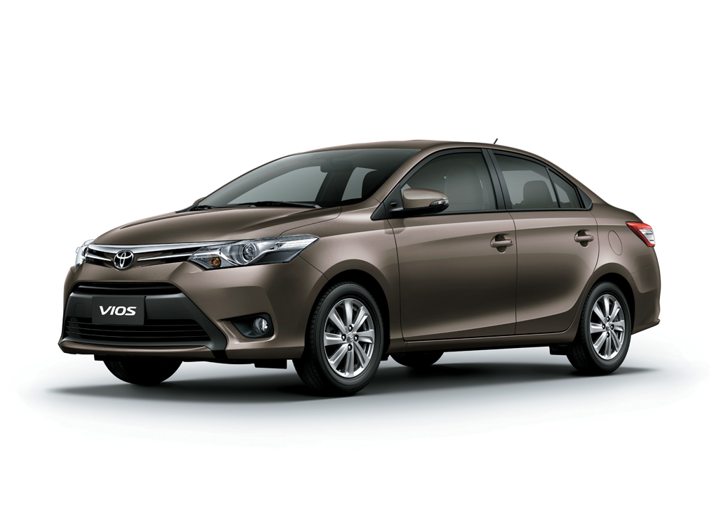 Toyota Unveils An Almost All-New Vios.