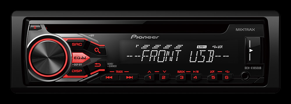Pioneer Launches New Cd Receivers